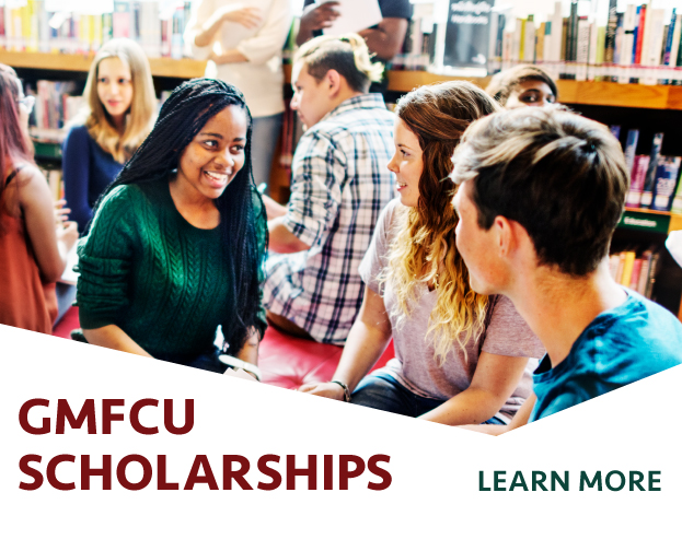 Learn more about GMFCU Scholarships