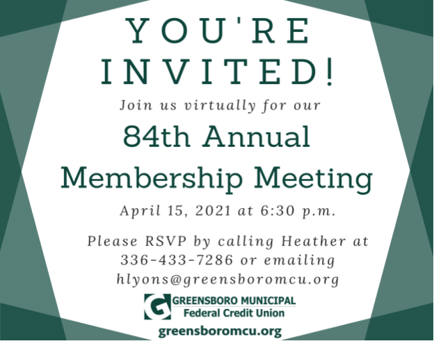 RSVP for our Annual Meeting