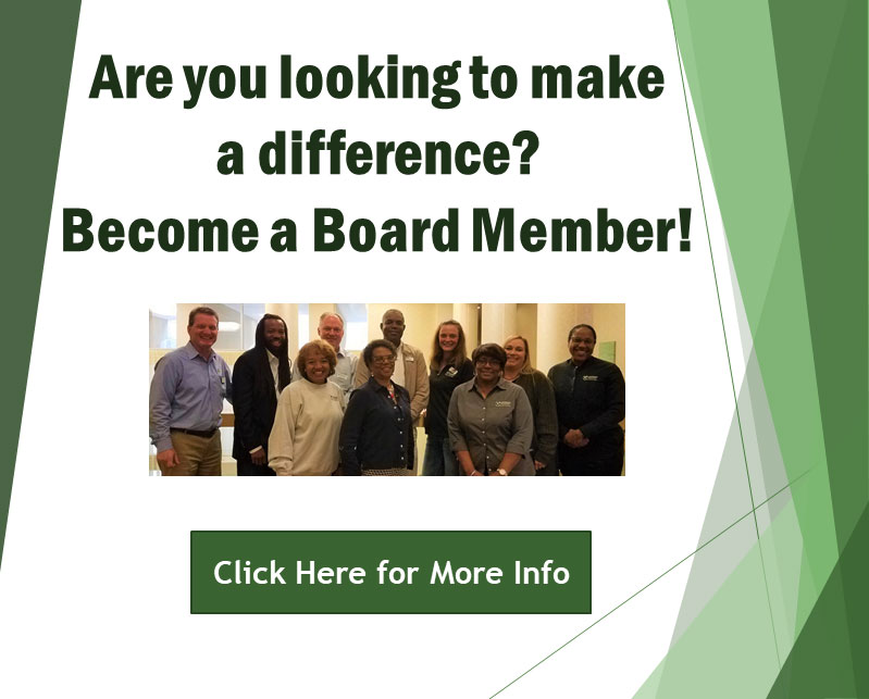 Are you looking to make a difference? Become a board member!