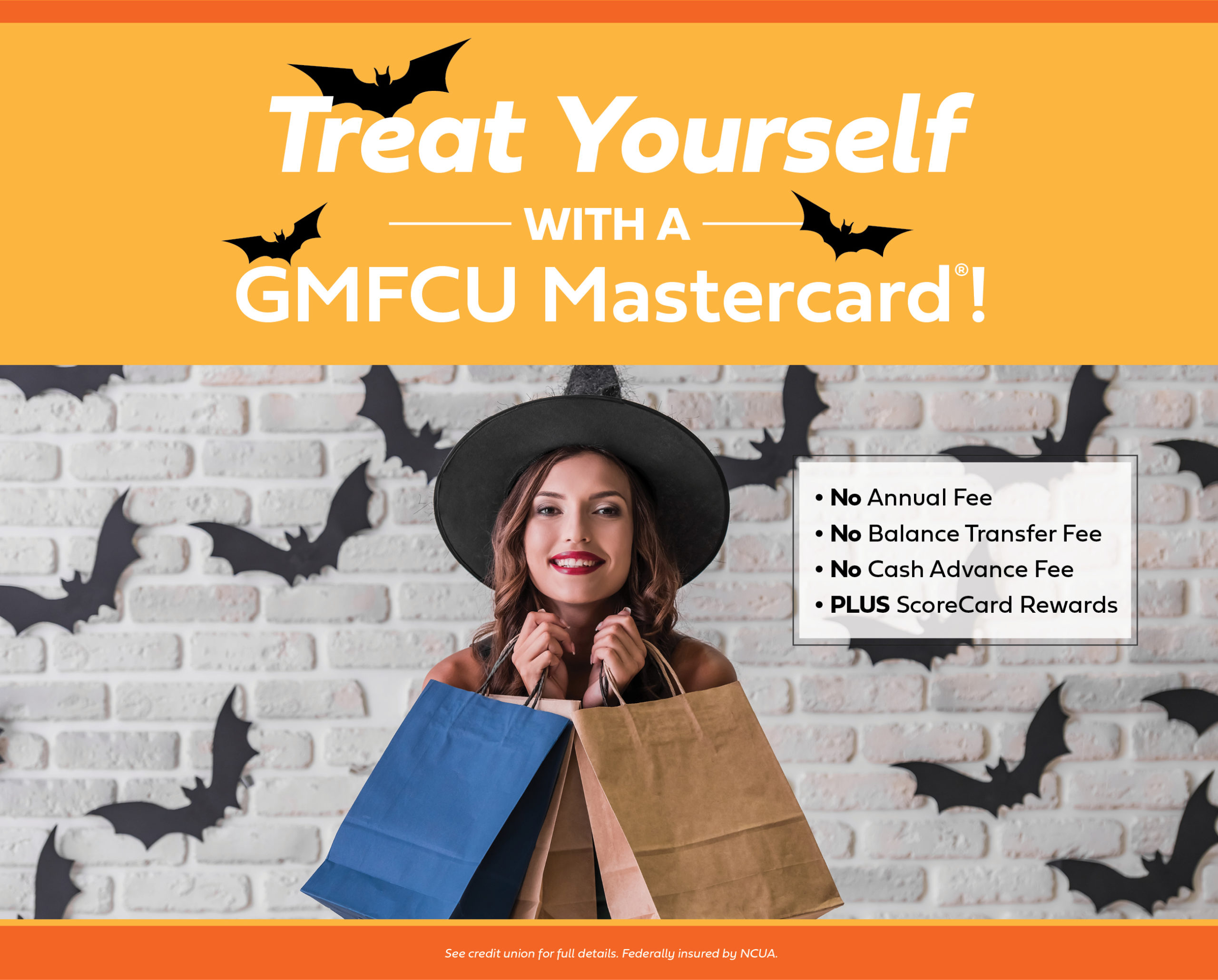 Treat yourself to a credit card with no annual, cash advance fee, or balance transfer fee plus scorecard rewards