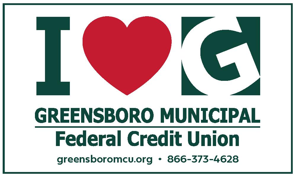I Heart Greensboro Municipal Federal Credit Union