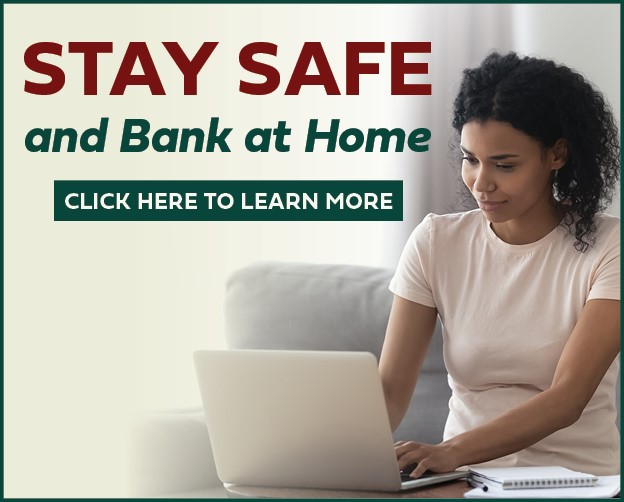 Stay safe and bank at home