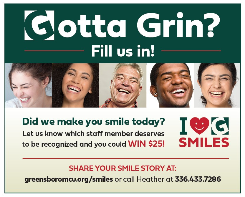 Let Us Know How We Made You Smile!