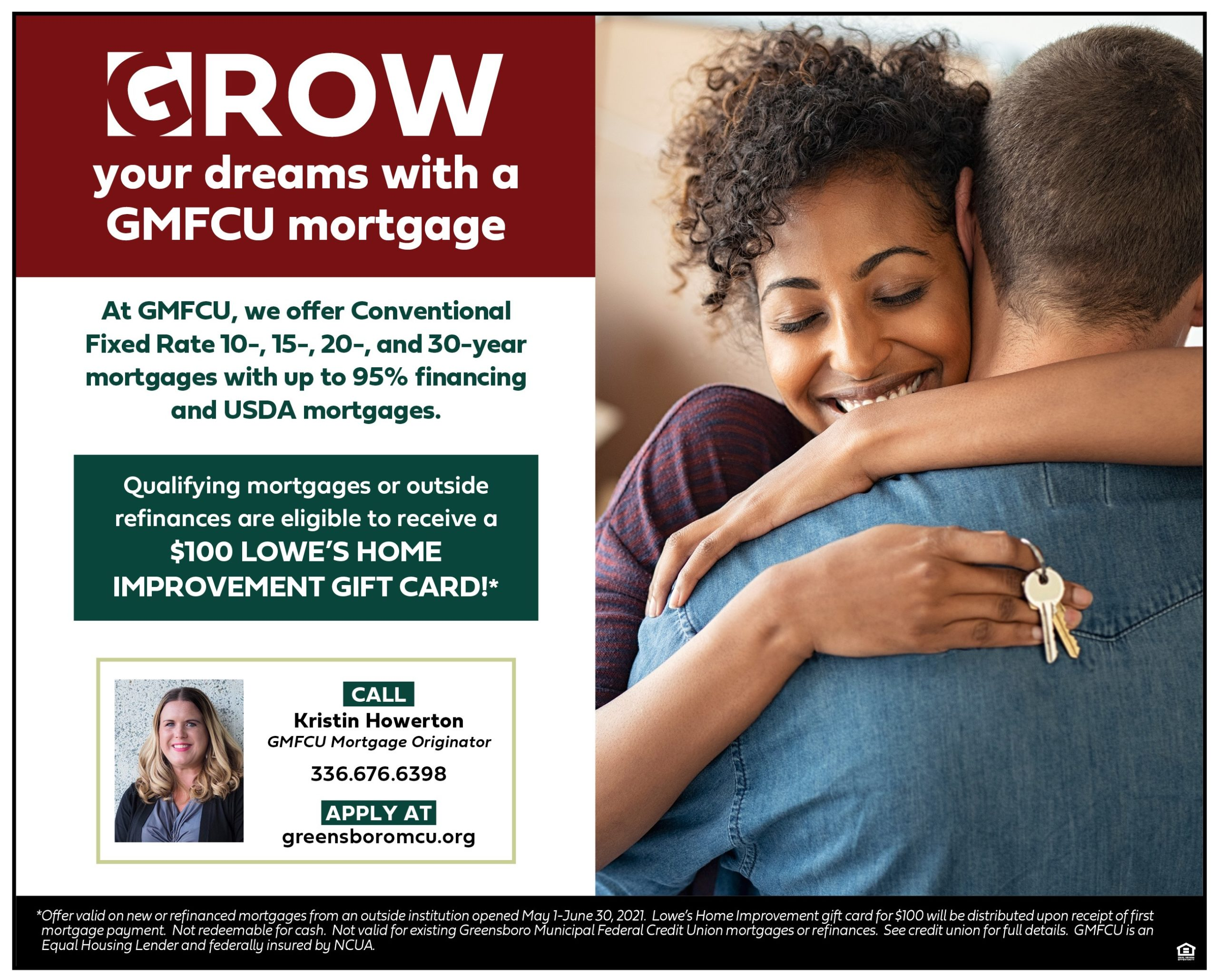 Grow your dreams with a GMFCU Mortgage