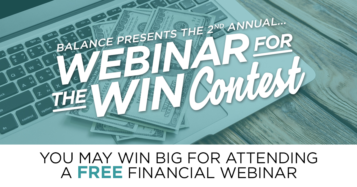 BALANCE presents Webinar for the Win!