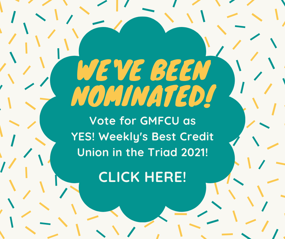 Vote for us for Best Credit Union in the Triad 2021