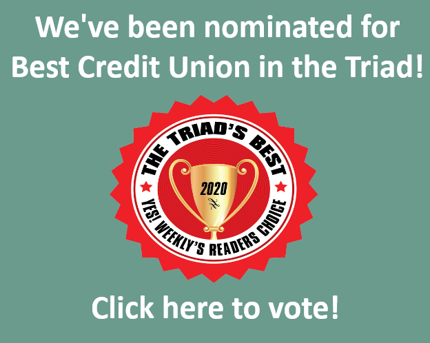 Vote for GMFCU in Yes Weekly's Best of the Triad!